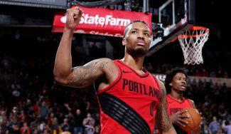 Lillard eclipsa los 50 puntos de Durant y le quita el liderato a los Warriors