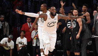LeBron lidera a su equipo en el All-Star: 3º MVP, el primero como capitán