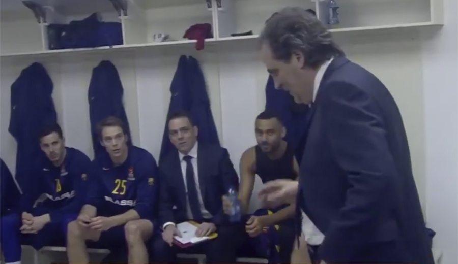 """""""Esto lo veo por TV"""". El curioso speech de Julbe antes de dirigir al Barça"""