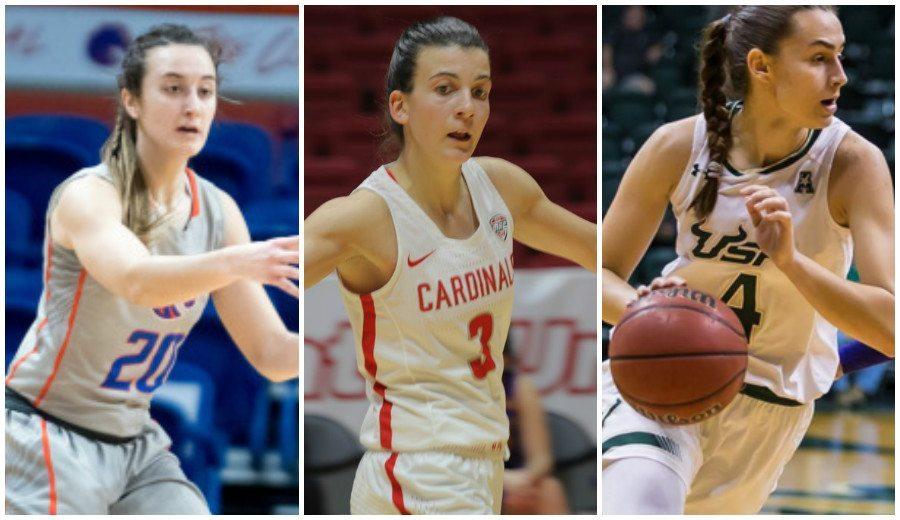 Triple tope anotador de españolas en la NCAA: brillan Hermida, Grande y Prieto