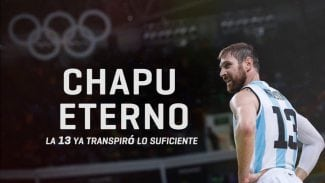 Argentina retira el dorsal del Chapu Nocioni con honores de leyenda