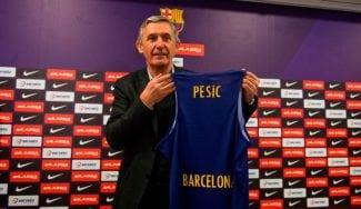 """Pesic, presentado en el Barça: """"Necesito tiempo pero no hay tiempo"""""""