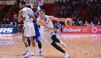 Velickovic vuelve a brillar en su Partizan: MVP de enero en la Adriática