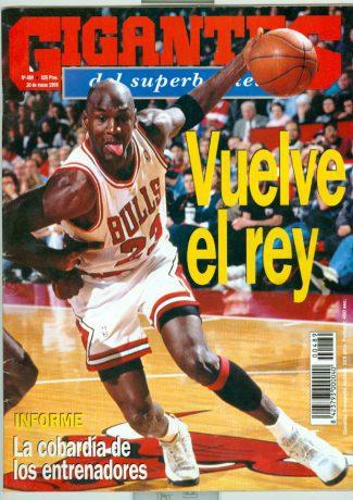 Se cumplen 25 años del primer regreso de Michael Jordan