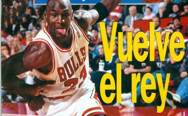 Se cumplen 26 años del primer regreso de Michael Jordan