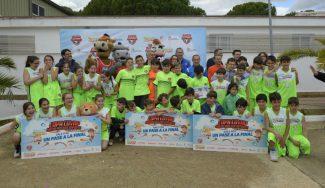 La Copa COVAP pone acento en Huelva en los beneficios del ejercicio infantil