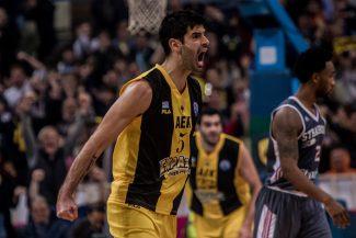 Basketball Champions League: victorias para AEK y Mónaco en cuartos