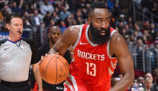Revancha de Rockets ante Clippers con jugada antológica de Harden