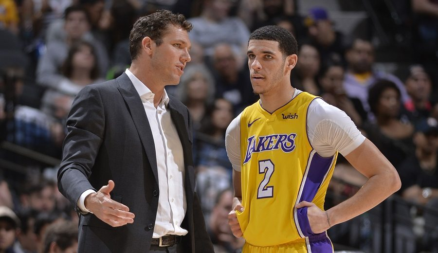 El fichaje de Rondo, un toque de atención de los Lakers a Lonzo Ball