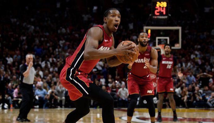 Locura y récord: los Heat anotan tanto que rompen el marcador