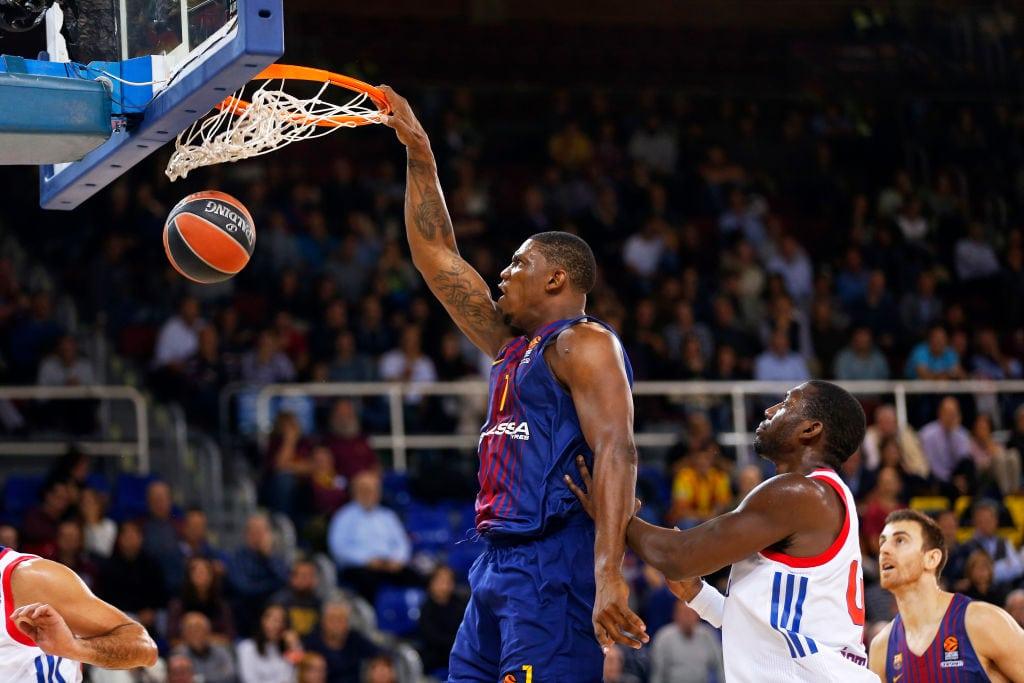 El Barça pierde a Seraphin para el resto del curso: operado de la rodilla
