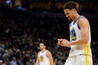 Los Warriors se quedan sin 'Splash Brothers': Klay Thompson, también lesionado