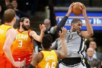 ¿Partido del año? Los Spurs ganan a Utah con un Aldridge inmenso