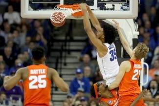 Duke, Villanova y Kansas no fallan en el March Madness