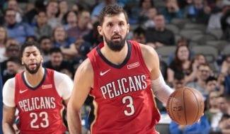 Nikola Mirotic, titular y clave en la octava victoria seguida de los Pelicans