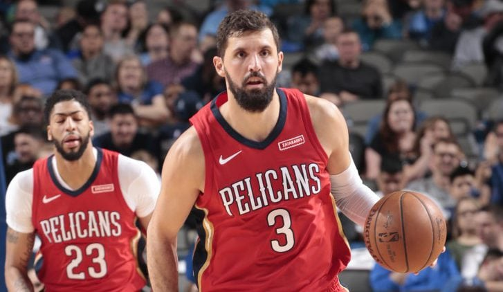 Los New Orleans Pelicans traspasan a Nikola Mirotic a los Milwaukee Bucks