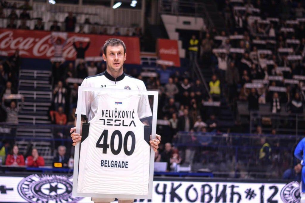 Partidazo y homenaje a Novica Velickovic: ya es un histórico del Partizan
