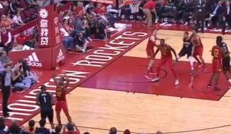 Los Rockets tiran triples… hasta cuando no pueden