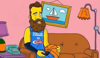 Datome, 'estrella' en Los Simpson: mira el personaje del jugador italiano