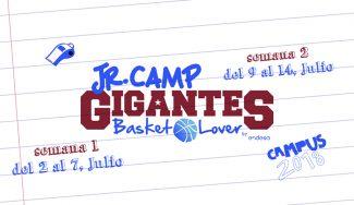 Llega la IV edición del Jr. Camp Gigantes Basket Lover. ¡Reserva tu plaza!