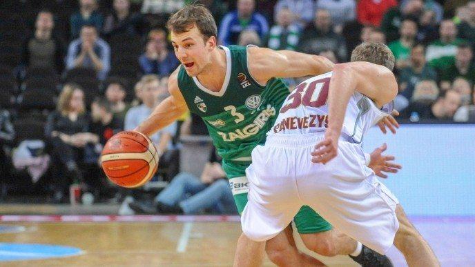 El ex ACB Pangos, MVP en Lituania con su mejor partido en el Zalgiris