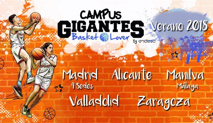 Apúntate ya al Campus Gigantes Basket Lover: repasa fechas y sedes