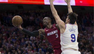 Dwyane Wade guía a los Miami Heat en la victoria sobre Philadelphia 76ers