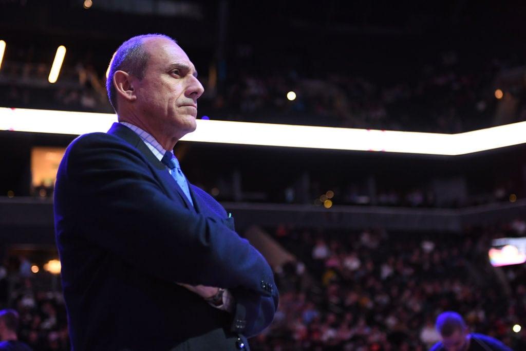 Ettore Messina, candidato al banquillo de los Charlotte Hornets