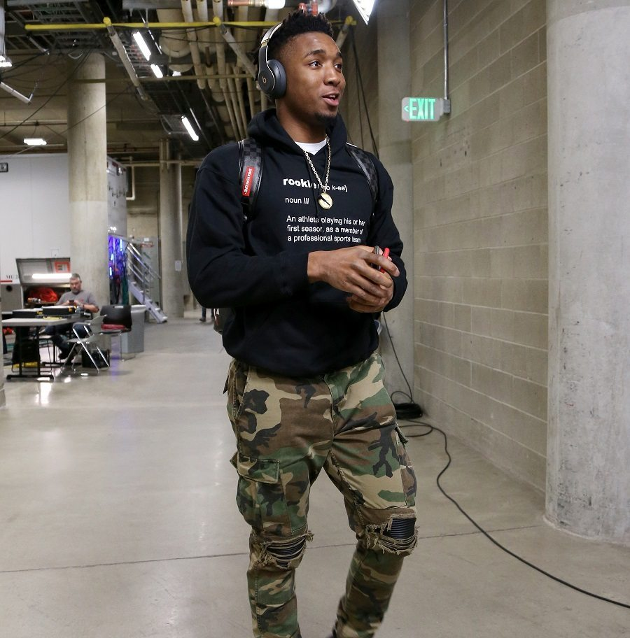 Donovan Mitchell (Jazz); Foto: Melissa Majchrzak / Getty Images