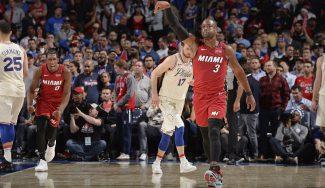 Dwyane Wade supera a Jordan y ya es el exterior con más tapones en la historia de la NBA