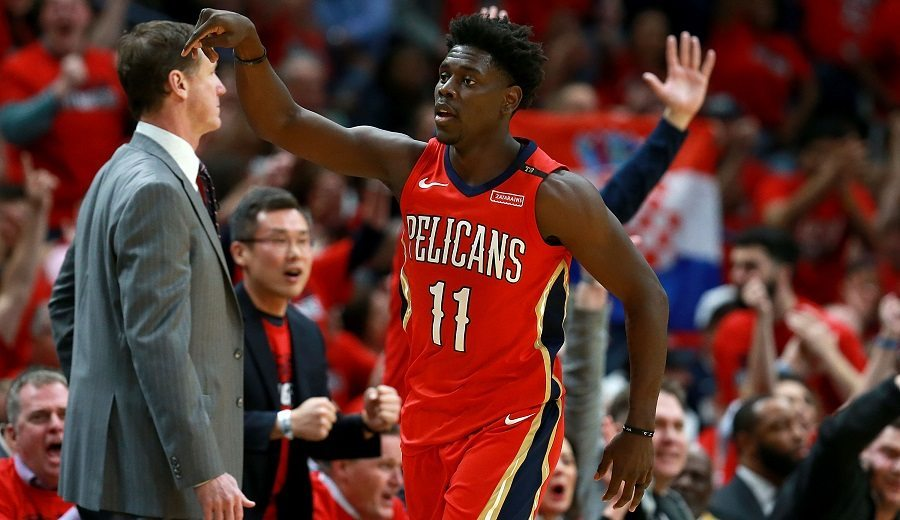 Jrue Holiday (Pelicans); Foto: Sean Gardner / Getty Images