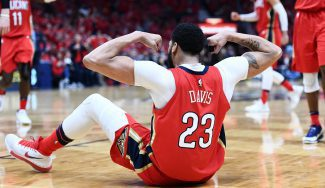Anthony Davis roza un 'triple-doble' monstruoso