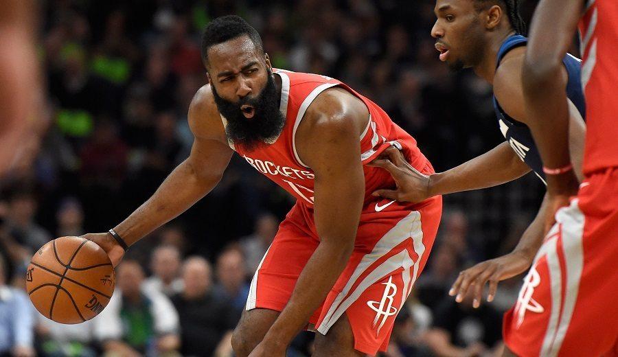 James Harden lidera a unos Rockets históricos ante los Wolves