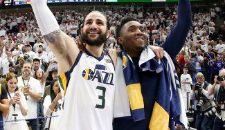 Donovan Mitchell y Ricky Rubio hace historia y los Jazz ponen el 3-1