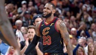 LeBron James ya es el máximo recuperador de balones en playoffs