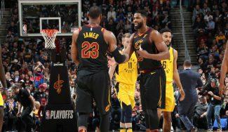 Cleveland Cavaliers se lleva el séptimo partido ante Indiana por la gracia del Rey LeBron