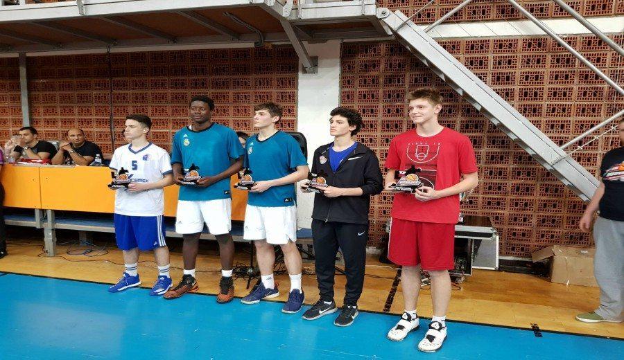 Konstantin Kostadinov, el talento búlgaro del Real Madrid, gana un concurso de mates