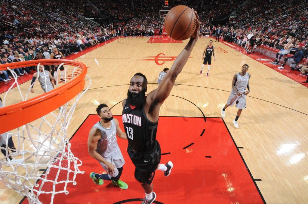 MVP Harden: 'La Barba' aplasta a los Timberwolves con 44 puntos