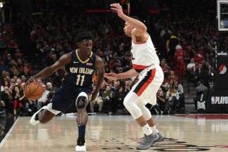 Jrue Holiday, la estrella del inicio de los playoffs de la NBA