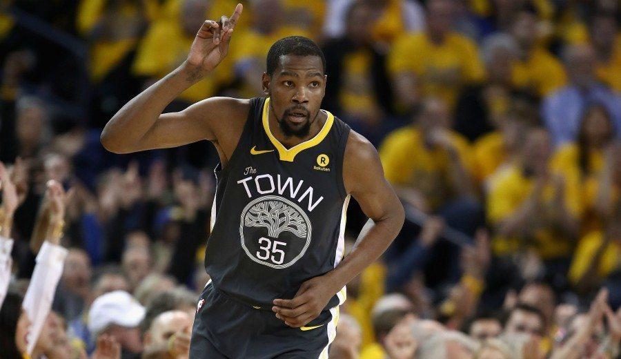 Kevin Durant jugará ante los Raptors: vuelta forzada para evitar el descalabro