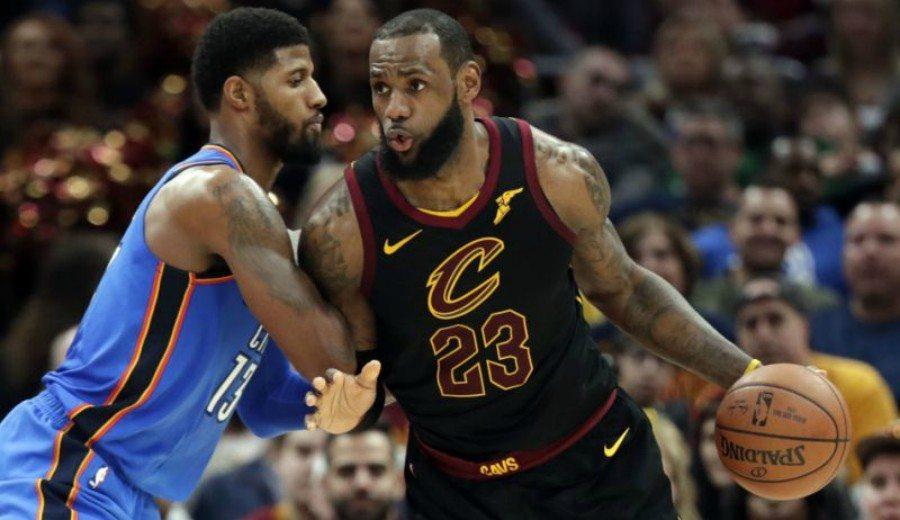 """""""LeBron James y Paul George jugarán juntos en los Lakers"""""""
