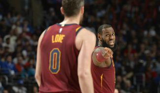 J.R. Smith: «Kevin Love sufre el 'Síndrome de Chris Bosh' en los Cavs»