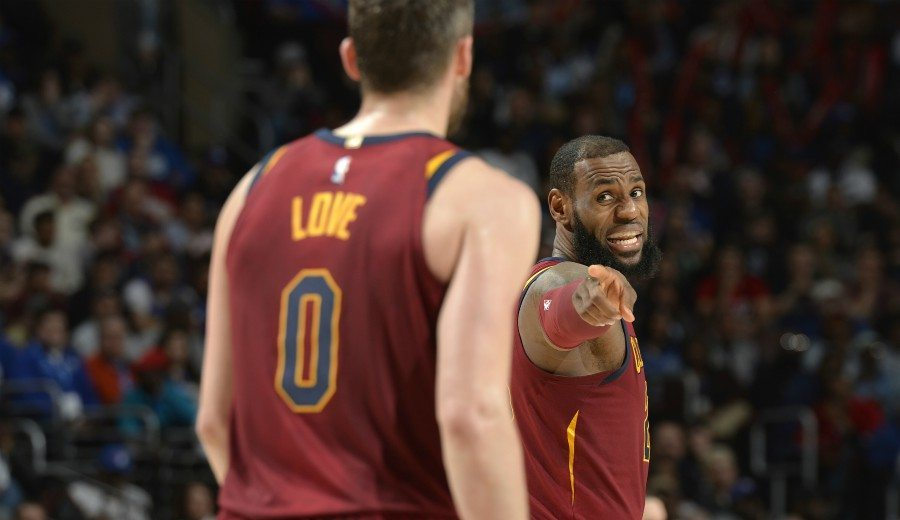 "J.R. Smith: ""Kevin Love sufre el 'Síndrome de Chris Bosh' en los Cavs"""
