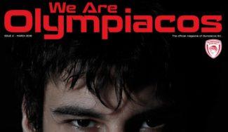 Nace 'We Are Olympiacos', la nueva revista digital del club griego