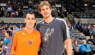 Pablo Prigioni y Tiago Splitter se reúnen de nuevo en la NBA
