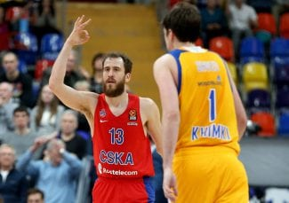 El CSKA se mete en la Final Four pese a la exhibición de Shved