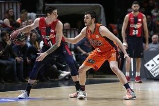 El Valencia Basket corta la mejor racha del Baskonia