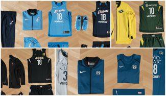 La WNBA hace oficiales los nuevos uniformes para la próxima temporada