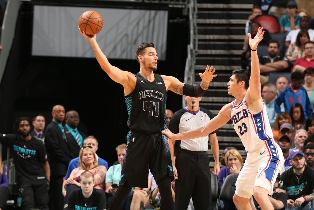 Willy Hernangómez exprime sus minutos: doble-doble contra los Sixers