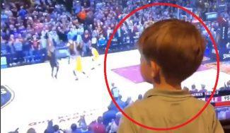 El niño que predijo el triple sobre la bocina de LeBron James